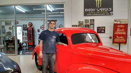 Eric - Head Painter at Body Works Unlimited in East Longmeadow MA